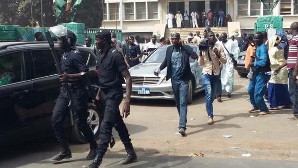 Secrétariat exécutif national du Ps : La police et des gros bras «convoqués» à la maison du parti