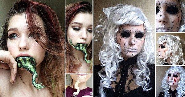 Ses compétences en maquillage sont aussi fascinantes qu'effrayant ! La 26 fait carrément flipper !