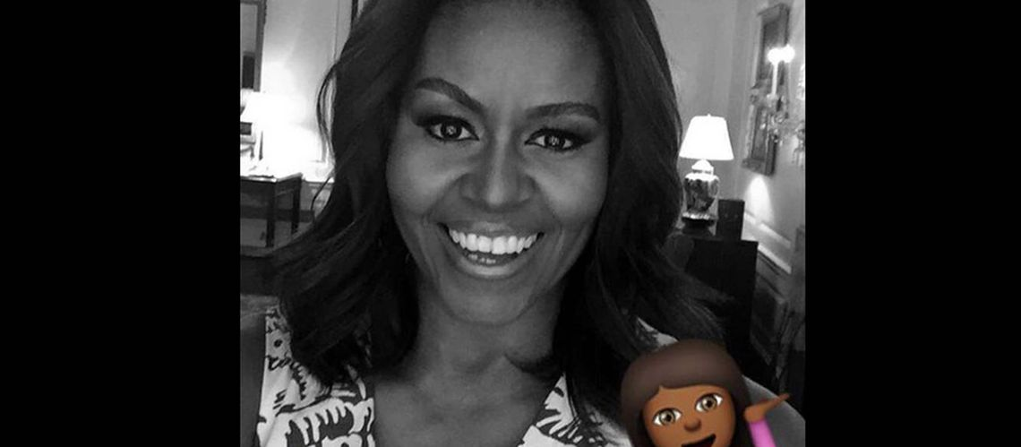 Michelle Obama, First Snap­chat Lady