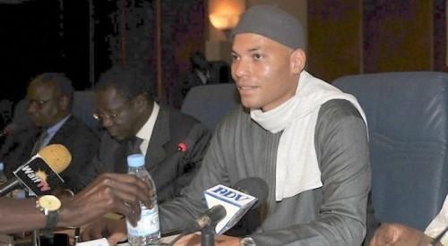 Pemière déclaration de Karim Meissa Wade après sa libération