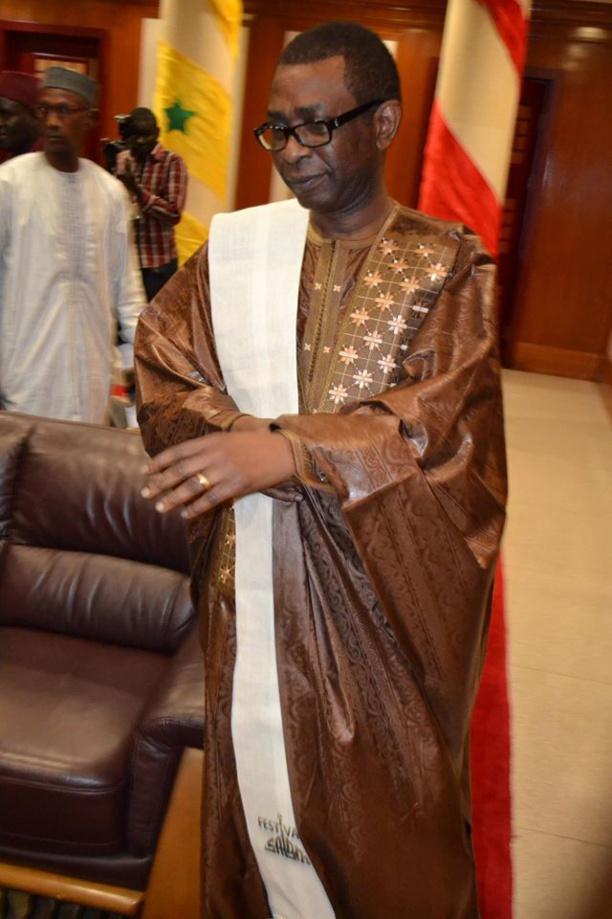 Youssou Ndour toujours sobre et élégant