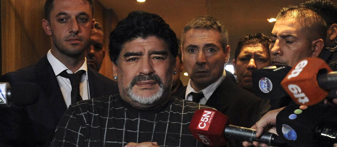 Diego Maradona et le président argentin exhortent Messi à rester