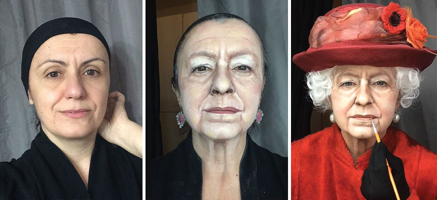 Elle se transforme en la célébrité de son choix : son maquillage est bluffant ! Le 9 est même carrément dingue...