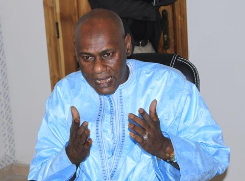 """""""Youssou Touré, taisez-vous donc si vous n'avez rien à dire que des insanités !"""" Lamine Sané  Rewmi Dakar Plateau."""