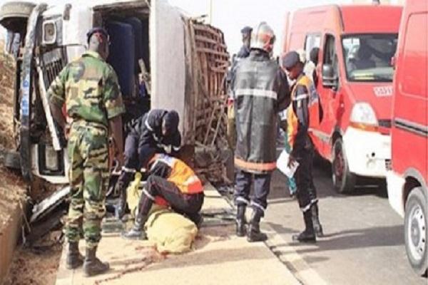 Touba - Ngagne Diaw (40 ans) écrabouillé par son bus