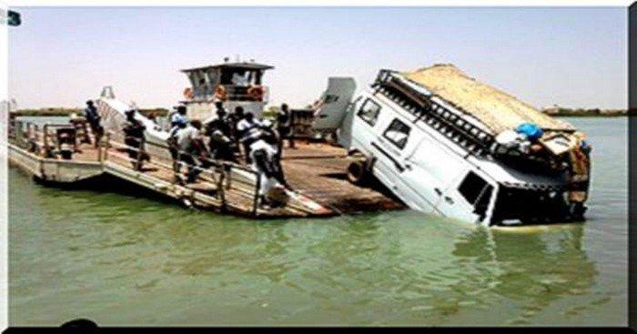 Rosso Sénégal: Un bus termine sa course dans le fleuve, plusieurs morts
