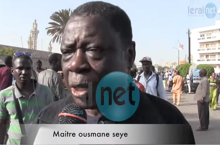 A quel Me Ousmane Sèye se fier ? L'avocat de 2013 ou le transhumant et girouette de 2016 ?