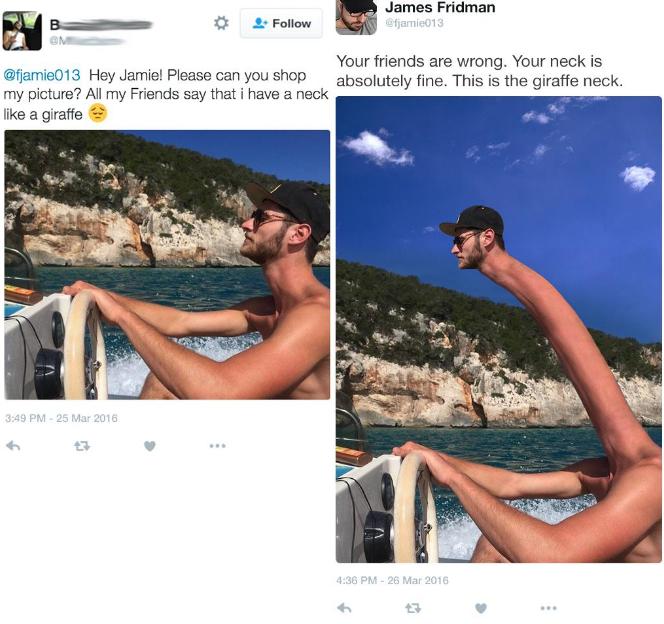 Un génie de Photoshop tourne les demandes de ses clients au ridicule