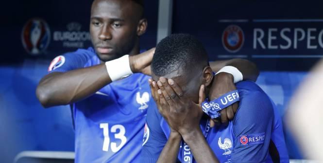 Euro 2016 : Des Bleus inconsolables après la défaite en finale
