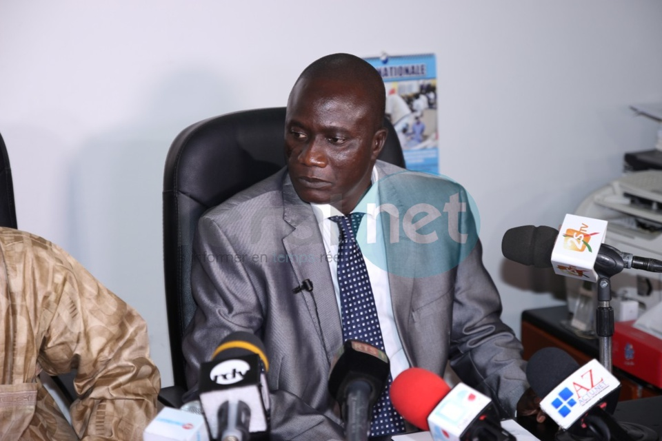Les images de la conférence de presse du patron de la Dic sur l'affaire Boy Djinné
