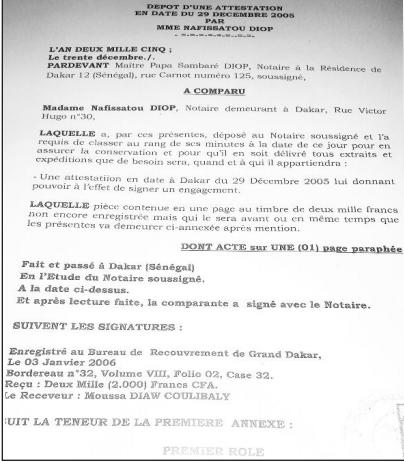 « Protocole de Rebeuss » : Le vrai rôle de Me Papa Sambaré Diop