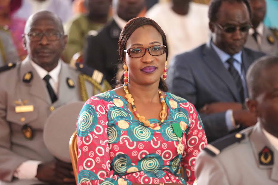 Le ministre conseiller Zahra Iyane Thiam élevée au grade de l'Ordre national du Lion par le président de la République