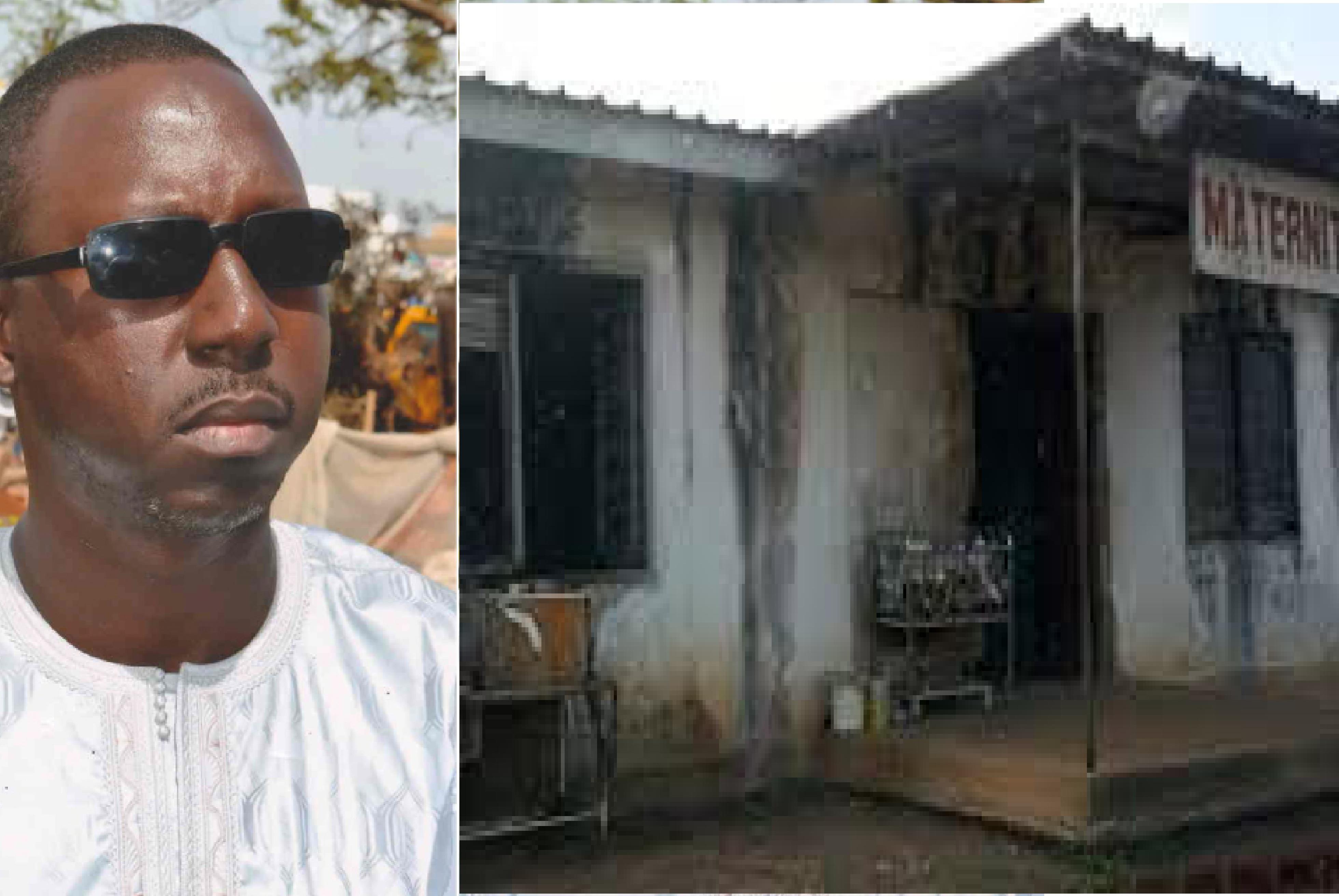 """Incroyable ! Pour avoir soldé la facture d'eau du poste de la maternité de Grand Yoff, Mora Cissé menacé de mort par un """"proche d'Adama Faye"""""""