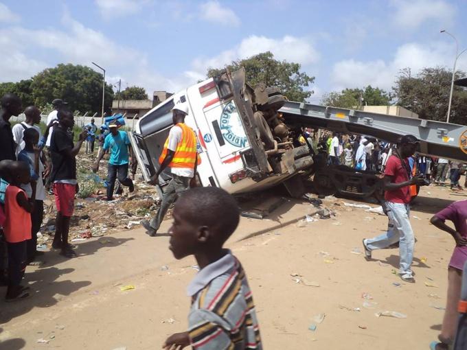 Linguère : Une collision entre deux véhicules fait 2 morts et une vingtaine de blessés