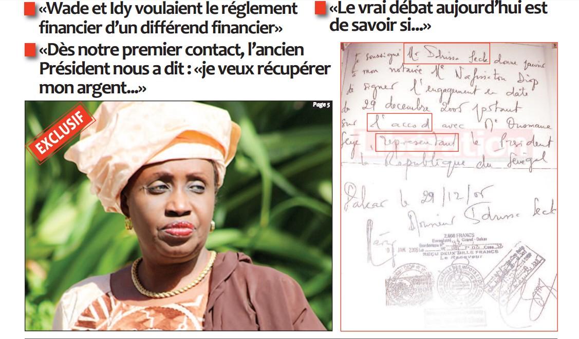 """Nafissatou Diop Cissé : """"Au procureur de la République, je dirais tout"""""""