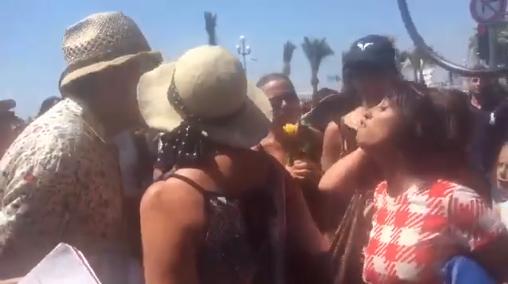 Incident raciste lors des rassemblements à Nice