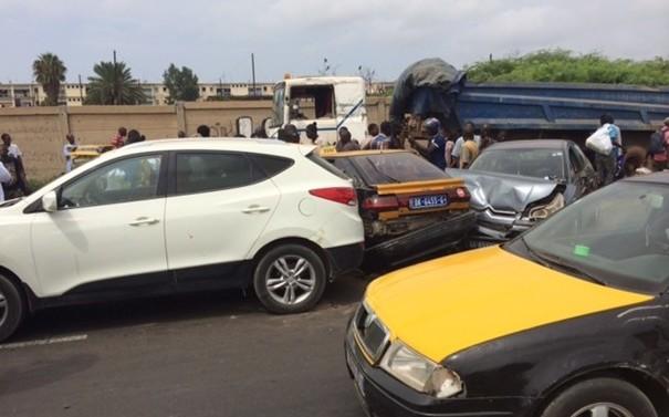 Homicide involontaire : Le chauffeur de Taxi Moussa Sène écope d'un an ferme pour avoir provoqué un accident ayant causé mort d'homme