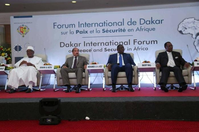 Forum Paix et Sécurité en Afrique - Le premier acte, mardi, dans un contexte trouble