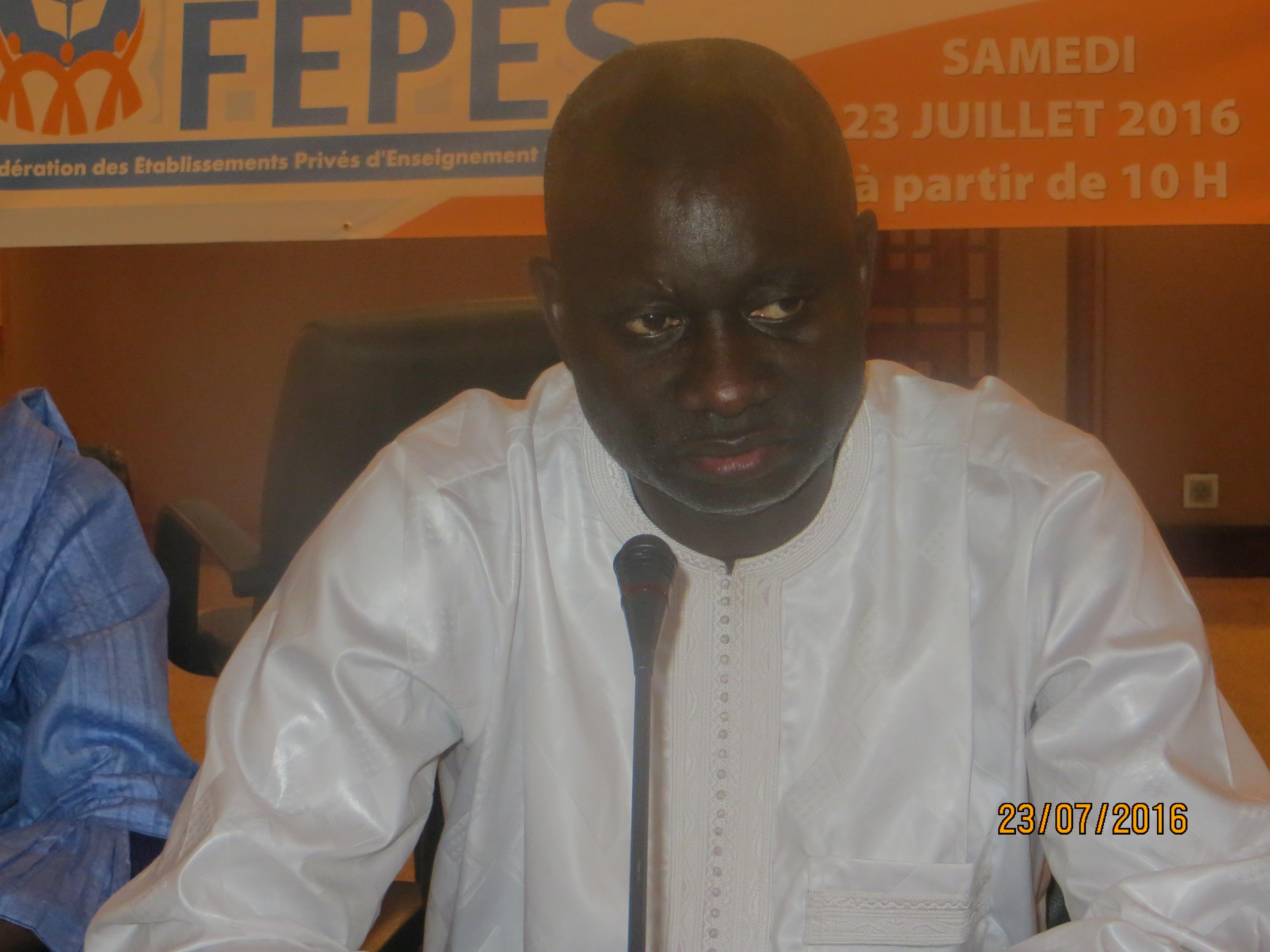 Fédération des établissements privés d'enseignement supérieur du Sénégal : Le Pdg de l'ISEG, Mamadou Diop, élu président
