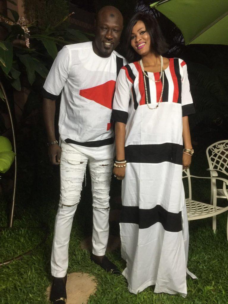 Belle complicité entre Jojo et Soumboulou Bathily