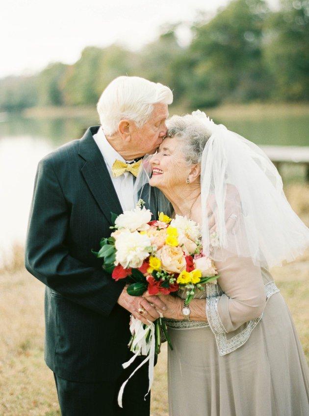 Ce couple fête ses 63 ans de mariage dans une série de photographies absolument adorables... Vous allez craquer !