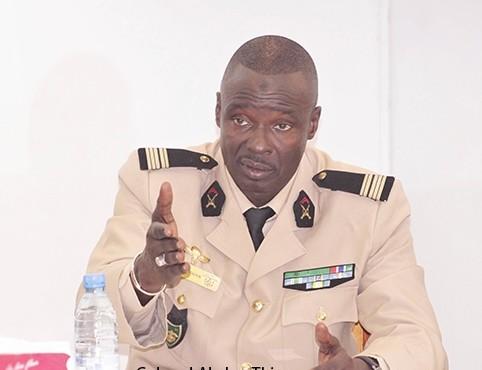 Nommé conseiller technique au Palais : Le Général Abou Thiam a fait ses adieux à la Dirpa
