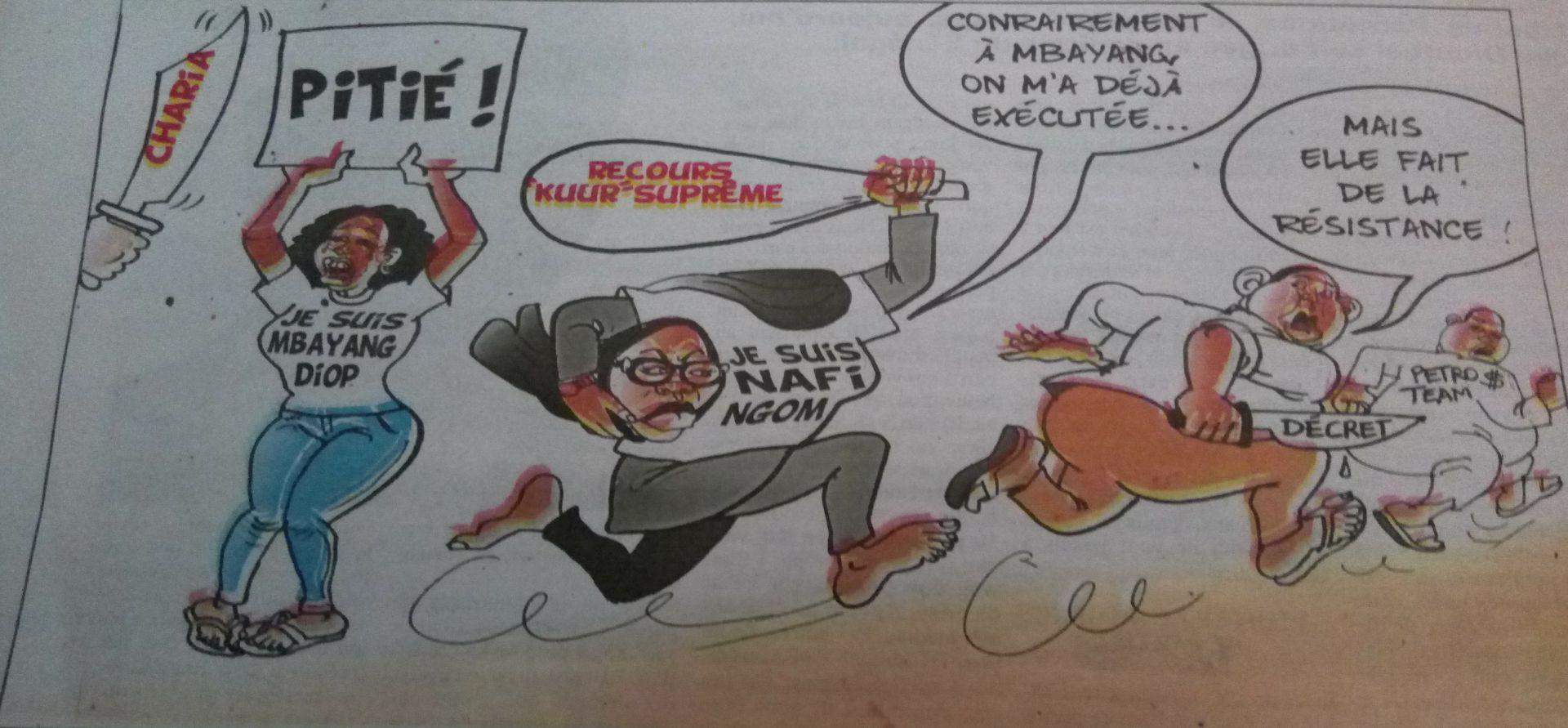 Affaire Mbayang Diop, Nafi Ngom contre Macky : L'actualité vue par Odia (La Tribune)