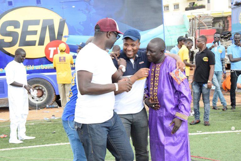 (05 Photos) Bougane Guèye Dany en toute complicité avec ses employés