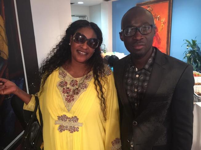 "Modou Ndao Baye Fall de la radio WPAT dans ""Door war"" en compagnie de la talentueuse Kebs de la Tfm à New York"