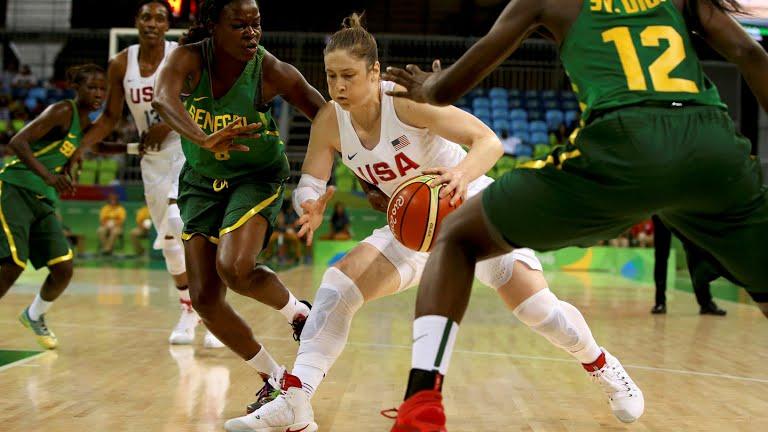 JO Rio 2016 : Les USA ont largement dominé les Lionnes du Sénégal (121-56)