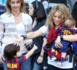 PHOTOS Shakira : avec Milan & Sasha, première supportrice de Gerard Piqué