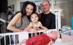 Baby Girl Né à 24 semaines déjoue tous les pronostics en avance sur son premier anniversaire