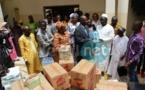 """La remise de dons alimentaires et sanitaires au Centre """"Guindy"""" en images"""