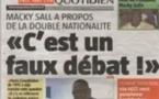 """Vidéo - Macky Sall sur la double nationalité : """"C'est un faux débat..."""""""