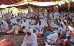 Pèlerinage 2016 : Un groupe de pèlerins de l'agence saloum voyage cloués à l'aéroport Léopold S. Senghor.