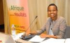 Geraldine Mahoro, chargée de projet de la Communauté africaine de pratiques sur la gestion axée sur les résultats de développement