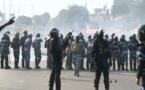 Vidéo: l'émeute au Gabon après la réélection d'Abo