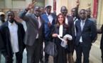En images la jubilation du camp de Karim Wade suite au verdict concernant la saisie de ses biens