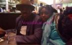 Farba Ngom, député-maire, en vacances à Paris avec sa femme, Adja Mbaye, la fille de Mansour Mbaye