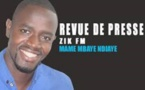 Revue de presse Zik Fm du 1er Octobre 2016 avec Mame M'baye N'diaye