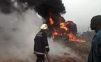 Un pipe-line de la Sar explose