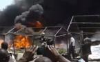 Vidéo : Urgent: grave incendie à Petersen.