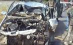 Vidéo : Un grave accident fait 3 morts et 4 blessés à Allou Kagne, entre Pout et Thiès. Ames sensibles, s'abstenir