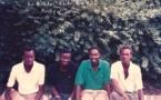 Ph. De gauche à droite: Boubacar Koïta,Papa Leyti Ndiaye, Macky Sall et Souleymane Ndéné Ndiaye