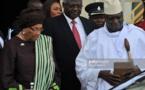Le président sortant demande l'annulation de la cérémonie d'investiture d'Adama Barrow. © REUTERS/Carlos Garcia Rawlins/Files