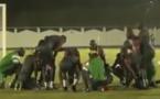"""Vidéo: la séance d'entraînement des """"Lions"""" après la victoire contre la Tunisie"""