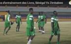 Vidéo-Dernier entrainement des Lions avant le match contre le Zimbabwe