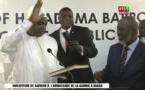 Vidéo - Urgent: Le nouveau président gambien Adama Barrow a prêté serment