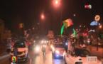 Vidéo: Explosion de joie des supporters sénégalais après la victoire des lions devant les locaux de la RTS. Regardez!