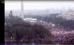 VIDEO - Washington : plusieurs centaines de milliers de personne dans la rue